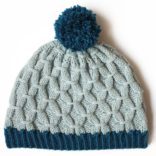 ROCK THE SMOCK HAT FREE KNIT PATTERN