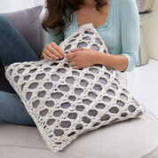 Go to Product: Red Heart Mesh Pillow Cover in color