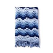 Bernat High Tide Crochet Blanket