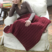 Go to Product: Red Heart Crochet Lap Throw in color
