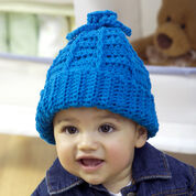 Red Heart Baby to Kid Crochet Hat