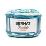 Bernat Blanket Stripes Yarn (300g/10.5 oz), Teal Deal