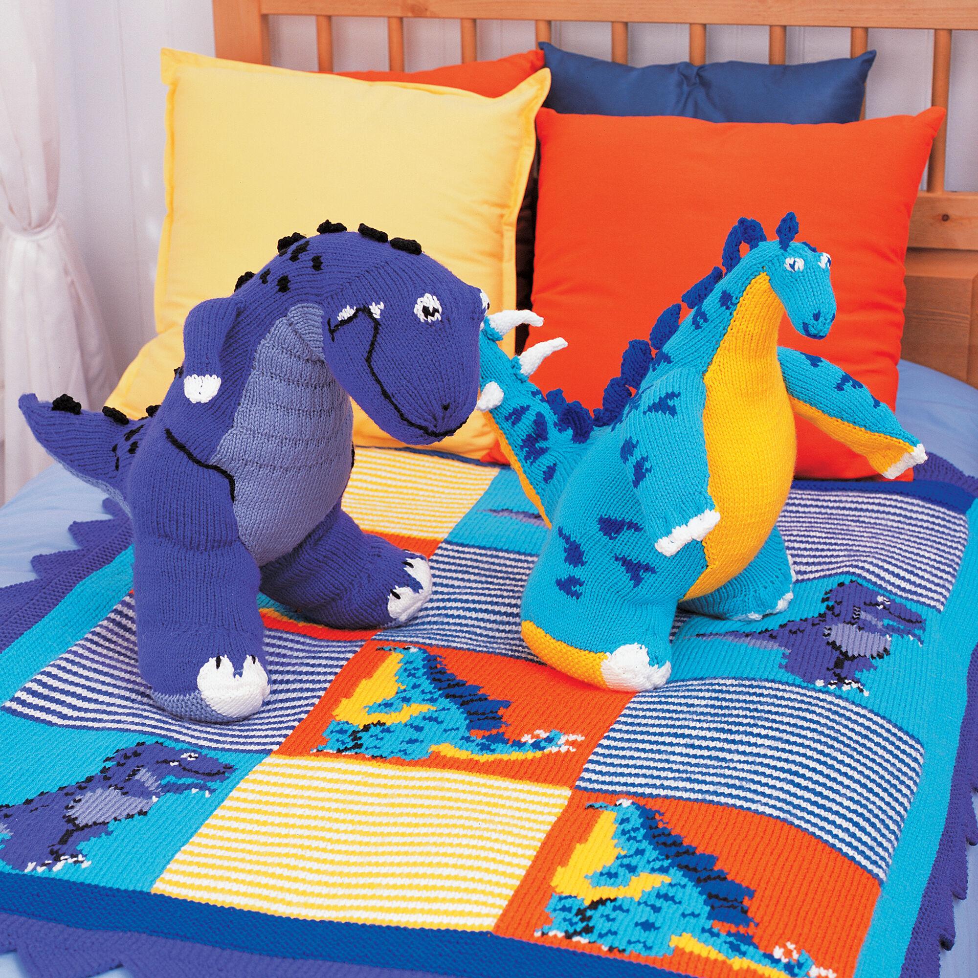 Patons T-Rex Knit Toy Pattern | Yarnspirations ...