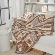 Go to Product: Red Heart Motif Sampler Crochet Throw in color