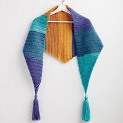Bernat Crochet Kerchief Scarf
