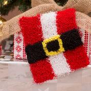 Red Heart Santa Belly Scrubby