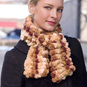 Red Heart Two Ball Crochet Scarf