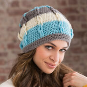 Go to Product: Red Heart Stripe It Slouchy Hat, S in color
