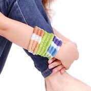 Lily Sugar'n Cream Straw Weaving Bracelets