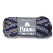 Patons Canadiana Variegates Yarn, Wedgewood Variegate