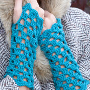 Red Heart Parisian Mitts