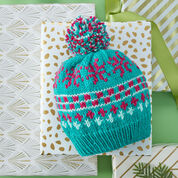 Go to Product: Red Heart Vivid Fair Isle Hat, S in color