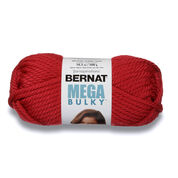 Go to Product: Bernat Mega Bulky Yarn (300g/10.5 oz) in color Claret