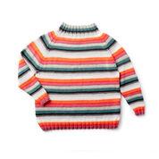 Caron x Pantone Stripes Hype Knit Pullover, XS/S