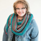 Go to Product: Red Heart Marly's Striped Knit Shawl in color