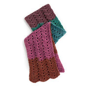 Caron Cakes Crochet Waves Scarf