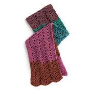 Caron Cakes Crochet Waves Scarf