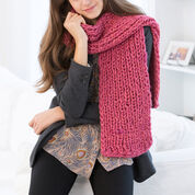 Go to Product: Red Heart Mondo Ribbed Scarf in color