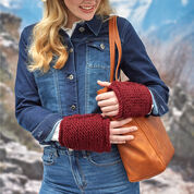 Go to Product: Red Heart Simple Knit Fingerless Mitts in color