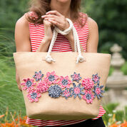 Aunt Lydia's Handbag Flower Appliqués