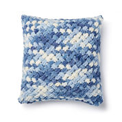 Bernat Alize EZ Criss-Cross Pillow