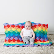 Go to Product: Bernat Tunisian Entrelac Baby Blanket in color
