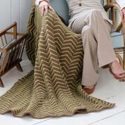 Go to Product: Red Heart ZigZag Ease Throw in color