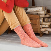 Go to Product: Red Heart Lacy Toe-Up Socks, Women's 7/8 in color