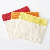 Lily Sugar'n Cream Dippity Doo Dah Knit Dishcloth, Version 1