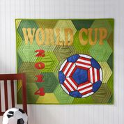 Dual Duty World Cup Quilt