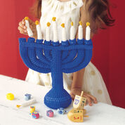 Go to Product: Red Heart Child's Menorah in color