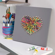 Go to Product: Red Heart Cool Canvas Yarn Art in color