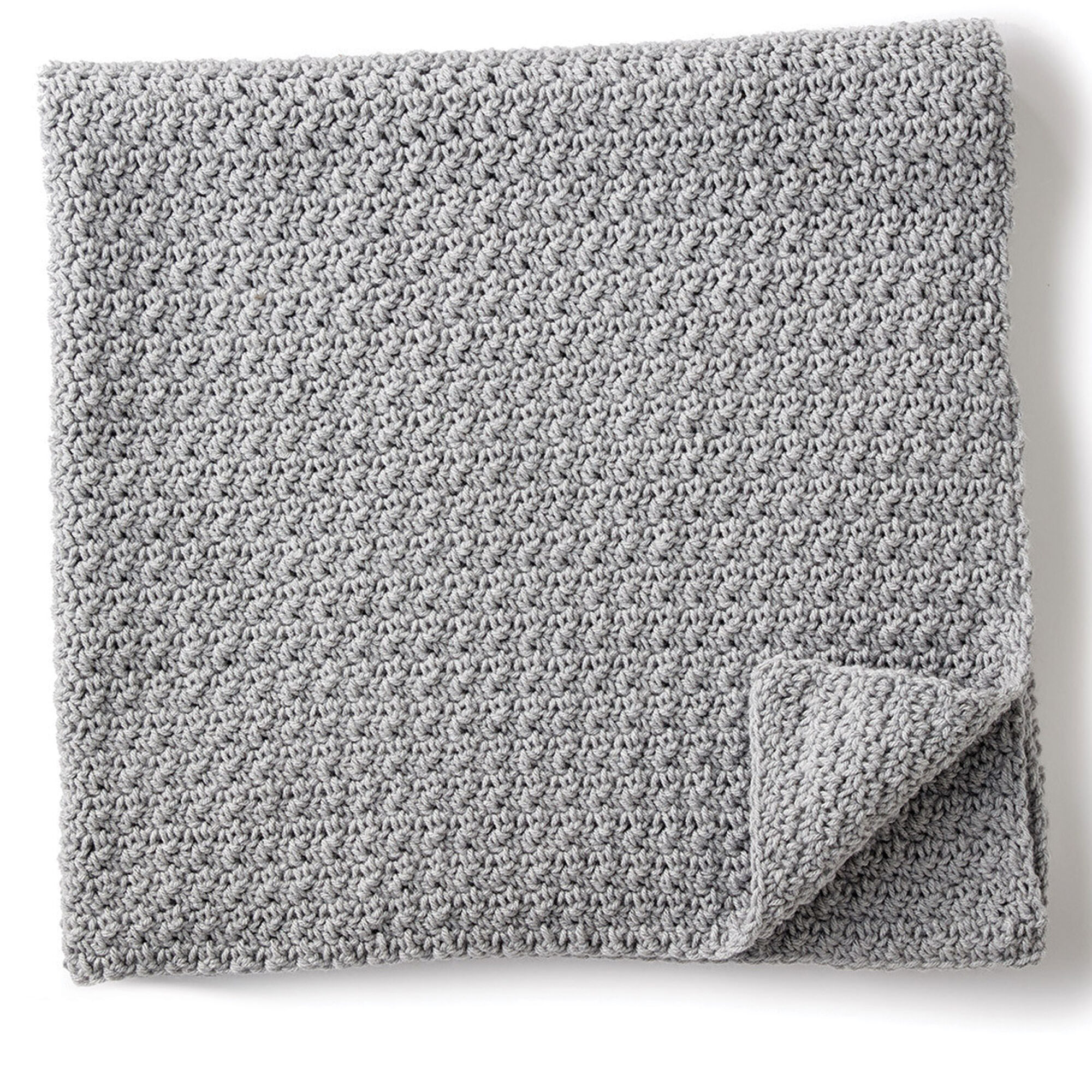 Caron Crochet Snuggle Pet Blanket, Cat | Yarnspirations