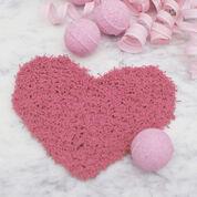 Red Heart Loving Heart Scrubby