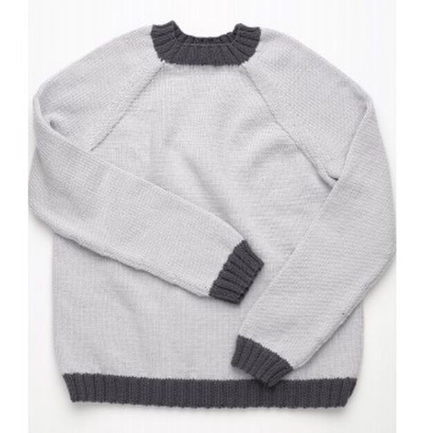 Red Heart Tween's Pullover, 10 yrs