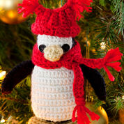Red Heart Little Penguin Ornament