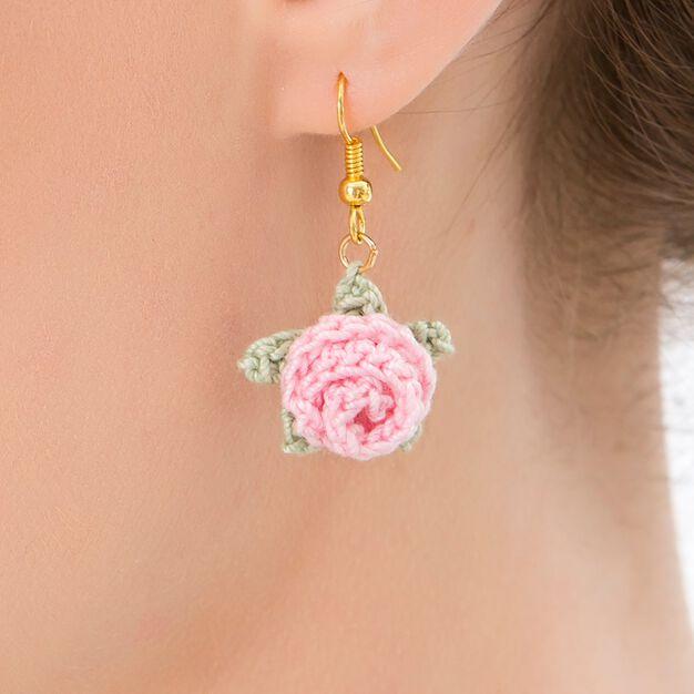 Aunt Lydia's Rosebud Earrings