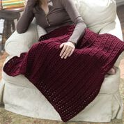 Red Heart Crochet One-Skein Lap Throw
