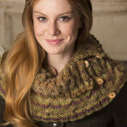 Go to Product: Red Heart Ups-and-Down Cowl in color