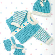 Go to Product: Red Heart Newborn Crochet Layette in color