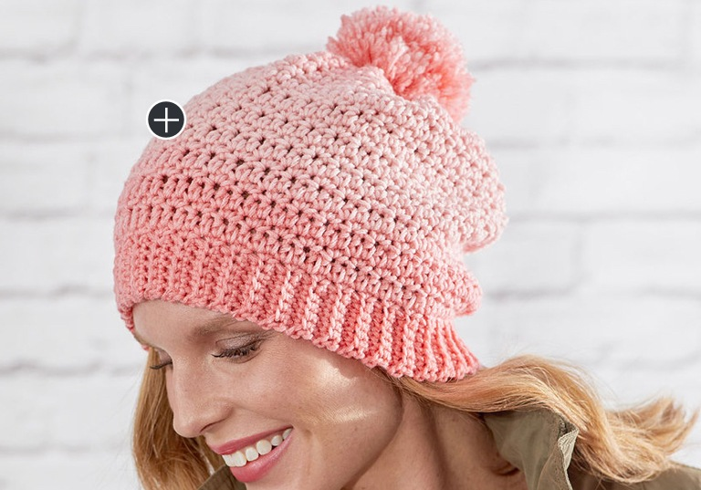 Easy Crochet Ombre Hat
