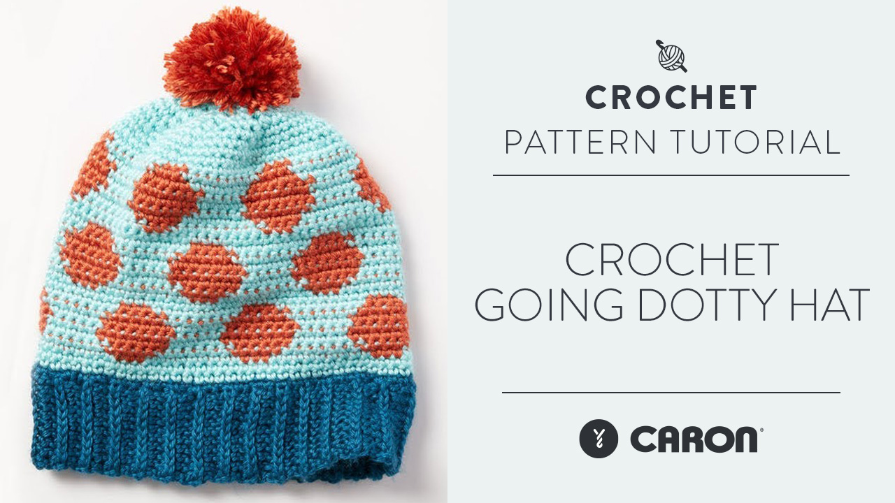 Crochet: Going Dotty Hat