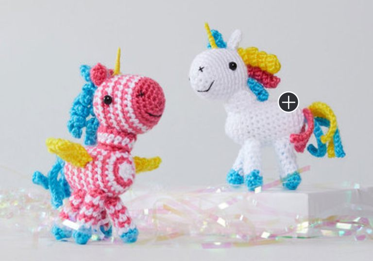 Easy Sparkle and Shimmer Crochet Unicorn