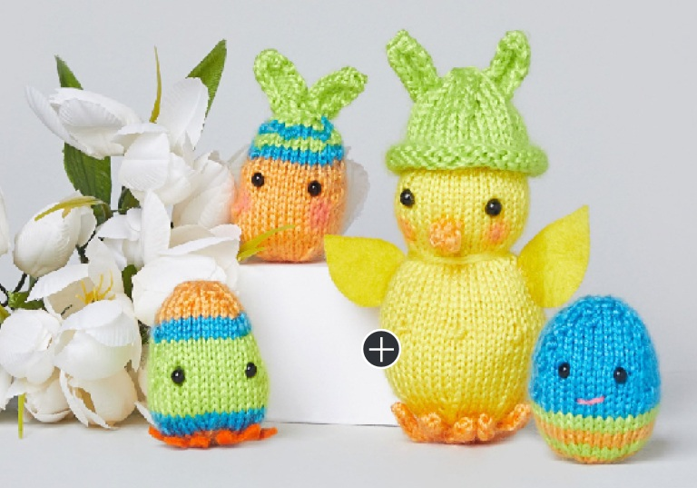 Easy Chrissy Knit Chick & the Egg-xtras