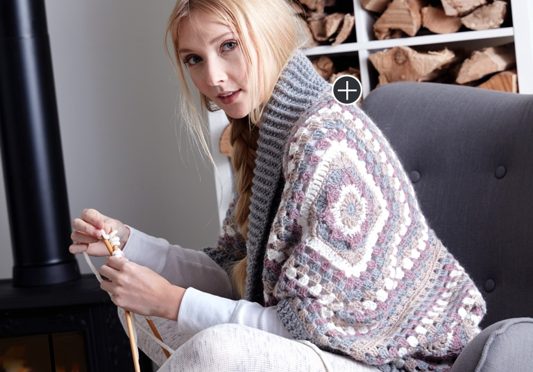 Easy Coziest Crochet Cardigan