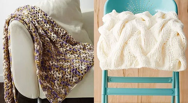 Bernat Blanket Patterns + Tutorials