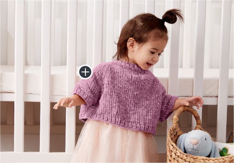 Easy Knit Poncho Sweater