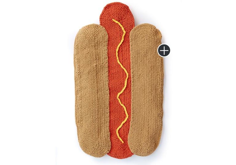 Easy Hot Doggin'! Crochet Snuggle Sack