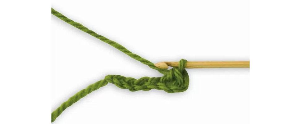 Single Crochet Yarn Over Hook
