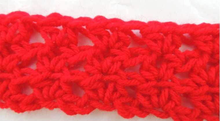 How to Crochet Classic DC V-Stitch (Plus 3 Variations)